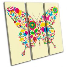 Floral Butterfly Animals - 13-0464(00B)-TR11-LO